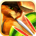 Fruit Ninja: Puss in Boots - кот-ниндзя